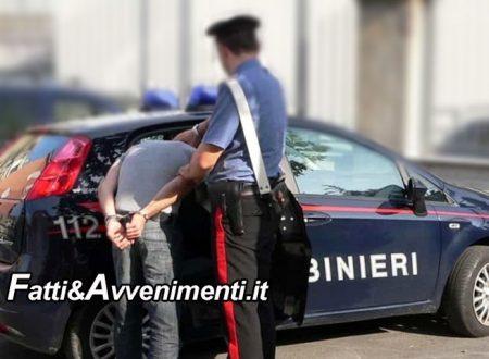 Ribera. Tunisino senza fissa dimora beccato con 14 dosi di cocaina in tasca: arrestato dai carabinieri