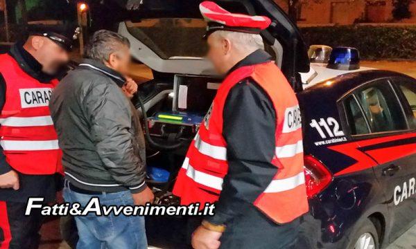 Ribera (Ag). I Carabinieri nel weekend eseguono controlli con l'etilometro e  ritirano 8 patenti