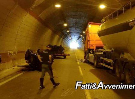 Ribera. Gravissimo incidente nella galleria: muore un uomo alla guida di un trattore gommato
