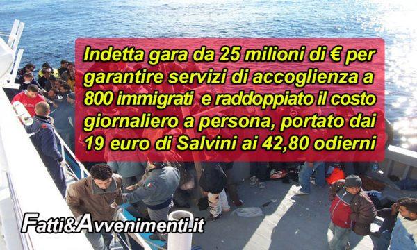 Lampedusa al collasso, parte bando da 25 milioni per gestire migranti con le Ong in attesa di sbarcarne altri