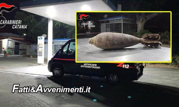 """Paternò (CT). Romeno lascia bomba armata e funzionate in un distributore e dice: """"Tra poco scoppia"""": arrestato"""