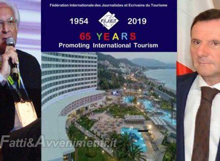 La FIJET celebra i 65 anni di promozione turistica all'Akti Imperial Hotel di Rodi in Grecia