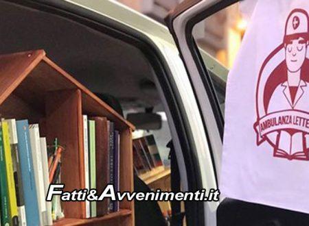"""Sciacca. """"Libri come cura"""": arriva l'Ambulanza Letteraria che """"prescrive libri come medicine"""""""