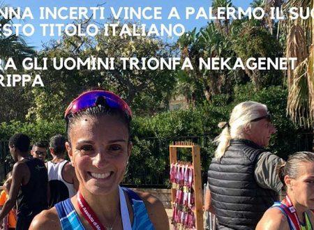 Maratona di Palermo: vince Anna Incerti, tanti i saccensi in gara, tempi e classifica