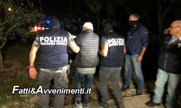 Vittoria (RG). Blitz polizia nella notte: 15 arresti per mafia e traffico illecito di rifiuti nel riciclo della plastica