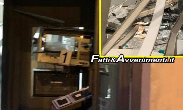 Scordia (CT). Rapinatori fanno esplodere il bancomat, ma resta incastrato: colpo fallito