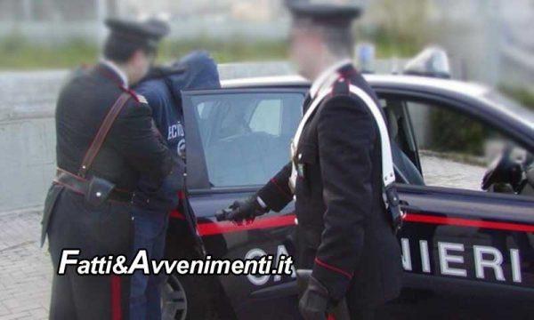 S.Giuseppe Jato. Lite per soldi, investe un uomo con l'auto schiacciandolo contro ponteggio: arrestato 46enne