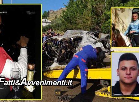 """Palermo. Arrestato il conducente della Bmw dello schianto con 2 morti: aveva bevuto e """"fumato"""", la foto su Instagram"""