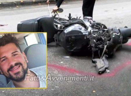 Mistretta (ME). Incidente mortale: un motociclista di 26anni perde la vita