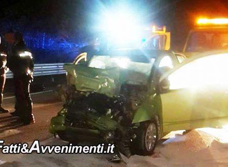 S.S. Palermo-Sciacca. Scontro tra due auto: 48enne rimane incastrata tra le lamiere, è gravissima