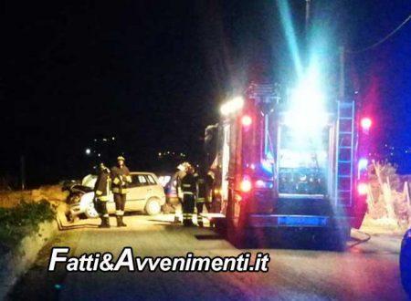 Valderice (TP). Scontro frontale tra due auto: muore un 38enne e due feriti estratti dalle lamiere dai pompieri