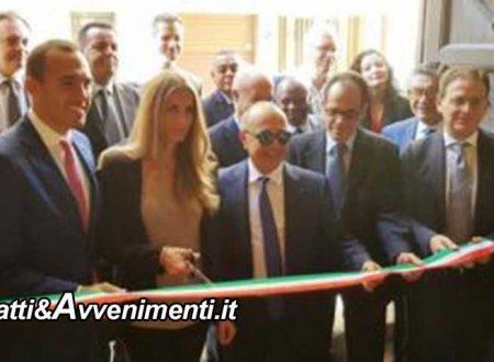 Mazara. Blue Sea Land, Expo Cluster Mediterraneo e Africa: inaugurazione con il Sottosegretario Di Stefano