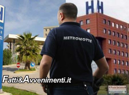 Sciacca e Agrigento. Arrivano i metronotte armati al Pronto Soccorso, esclusi gli ospedali di  Canicattì e Licata