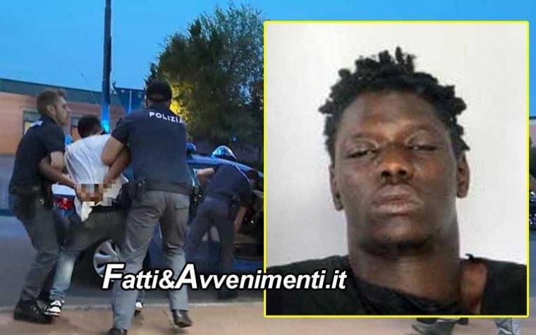 Catania. Guineano aggredisce due minori, poi una guardia giurata infine distrugge l'auto della polizia: arrestato