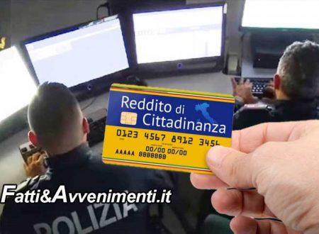 Caltanissetta. Polizia becca 3 furbetti del reddito di cittadinanza: denunciati dovranno restituire i soldi