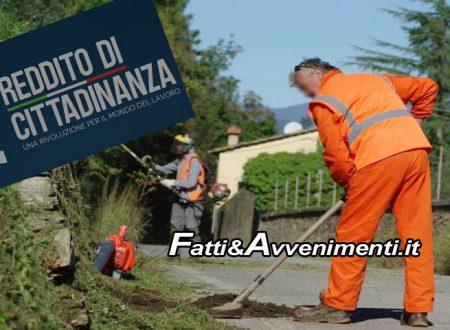 Reddito di Cittadinanza, tutti al lavoro per il Comune. Pronto decreto attivazione progetti utili alla collettività