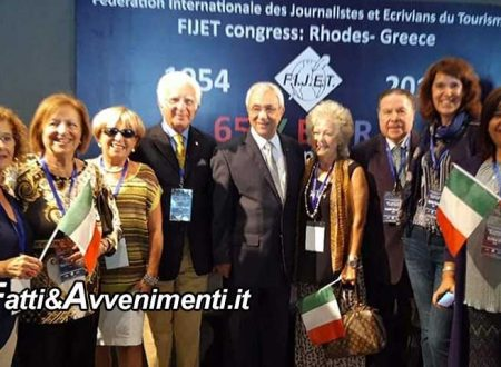 Rodi. Calato il sipario sul Congresso Fijet per il 65° Anniversario di promozione turistica della Fondazione
