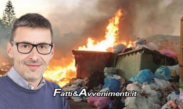"""Canicattì (AG). Incendi dolosi di rifiuti, Sindaco Di Ventura: """"Basta allo scempio che qualcuno vuole fare di questa Città"""""""