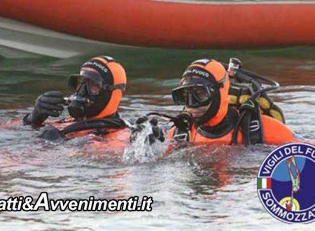Licata. Maltempo: disperso un uomo dopo essere scivolato nel fiume Salso: sommozzatori Vigili del fuoco in azione