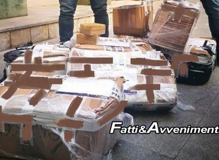 Palermo. Narcotrafficante con reddito di cittadinanza spedisce hashish per 1 milione di euro