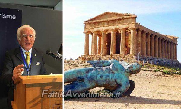 Agrigento. Parco Archeologico: Glaviano (Fijet) propone attribuzione del Golden Apple Award