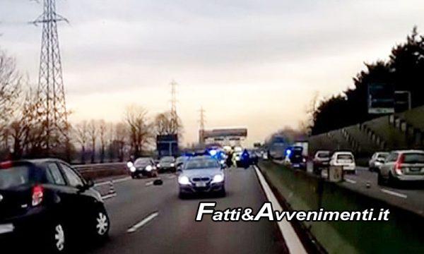 Catania. Senegalese contromano in autostrada per evitare controlli di polizia: rischiata tragedia