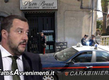 """Nicolosi (Ct). Uccise rapinatori: Procura chiede 17 anni per gioielliere rapinato, Salvini: """"Sto con lui"""""""