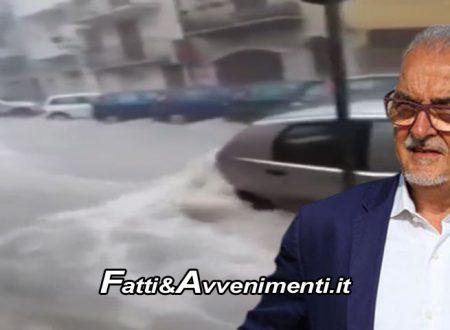"""Licata (Ag) sott'acqua. Sud di Serie B? Sindaco: """"Anche a noi serve attenzione come Venezia e Matera"""""""