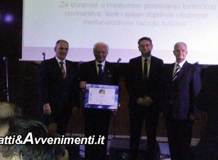 Croazia. Festival del Cinema di Solin: a Giacomo Glaviano della Fijet il Premio Turistico internazionale