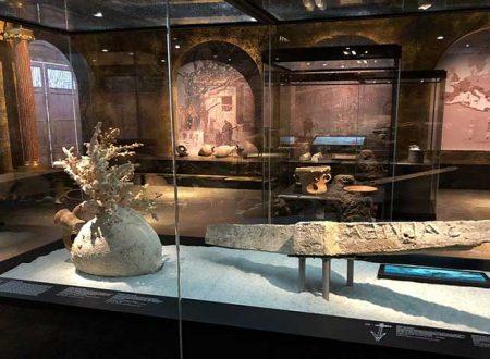 Soprintendenza del Mare – Regione Siciliana con i suoi reperti alla mostra in Danimarca dedicata a Pompei ed Ercolano