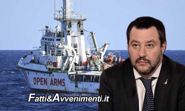 Open Arms. Procura di Palermo chiede rinvio a giudizio per  Salvini per sequestro di persona e rifiuto atti d'ufficio