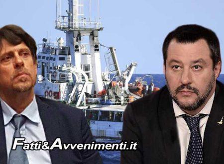 Tribunale Ministri chiede nuovo processo per Salvini per avere bloccato sbarco clandestini della Open Arms