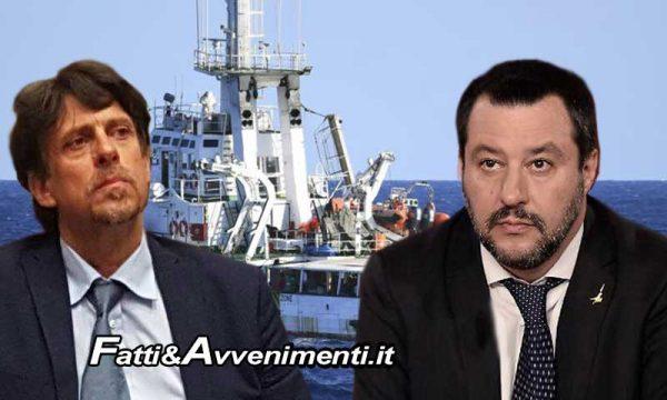 """Open Arms, Procura indaga Salvini per sequestro di persona che risponde: """"Rifarei e rifarò tutto. #portichiusi"""""""
