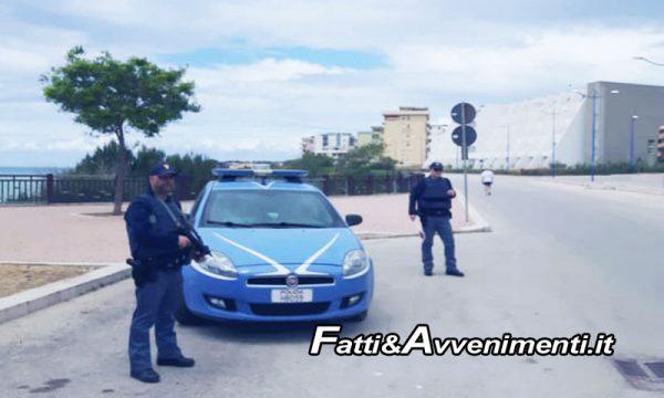 Sciacca. Controlli Polizia, beccato 55enne saccense alla guida con 5 dosi di cocaina: denunciato