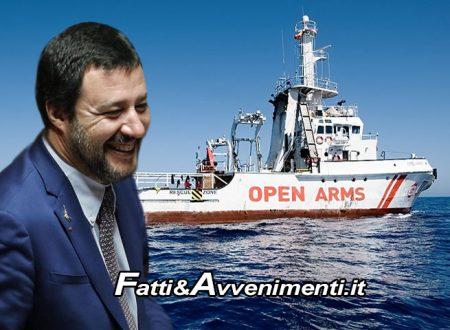"""Tribunale dei ministri da ragione a Salvini: """"Bloccare le Ong non è reato, devono sbarcare nel loro stato"""""""