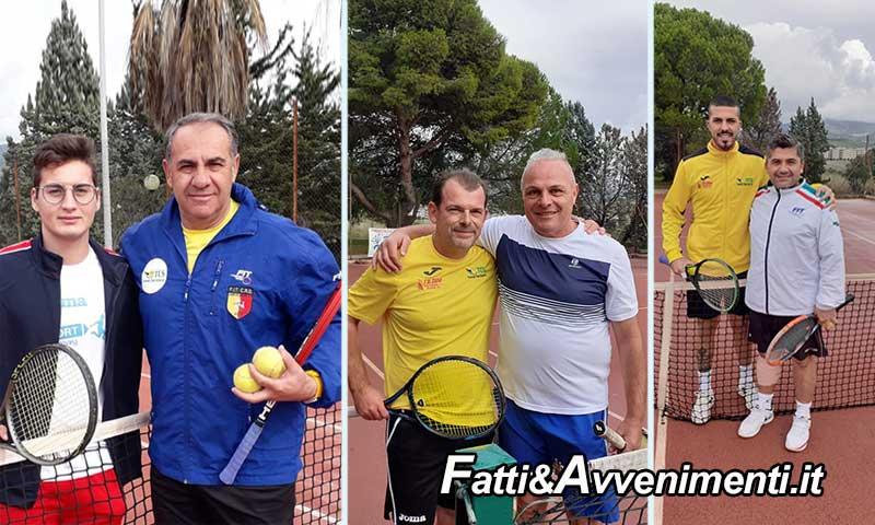 """La """"Tennis Club Sciacca"""" vince il girone a punteggio pieno e approda ai play off per la promozione in serie C - Fatti e avvenimenti"""