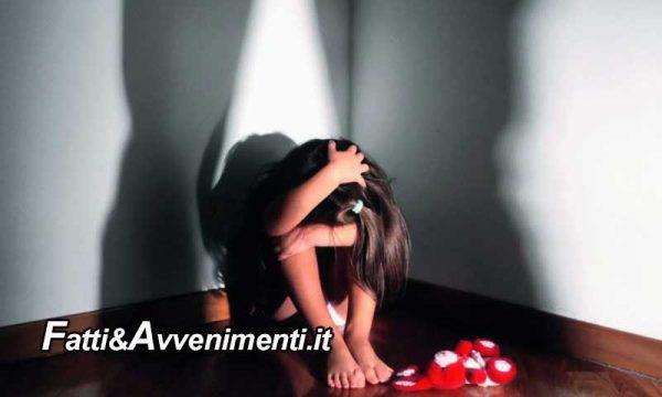 Catania. Abusa figlia di 9 anni della compagna e le mostra filmini hard della madre con immigrato: arrestato