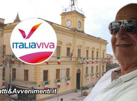 """Ribera. L'arch. Giuseppe Li Bassi costituisce il comitato di """"Italia Viva"""": assemblea costituente dopo le feste"""