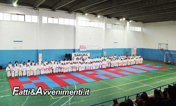 Sciacca. Grande successo per lo stage di Karate Shito Ryu della Sakura con Soshi Ivano DI Battista