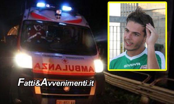 Pachino (SR). Incidente sulla provinciale, muore il portiere del Rosolini, feriti altri 2 calciatori