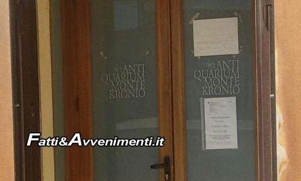 Sciacca. Dal 1° gennaio 2020 chiuderà anche l'Antiquarium Monte Kronio, cronache di una città morente