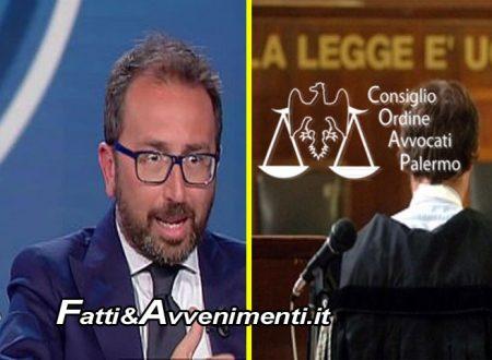 """Prescrizione. Ordine Avvocati Palermo: """"Ministro Bonafede ha reso affermazioni errate, si dimetta"""""""