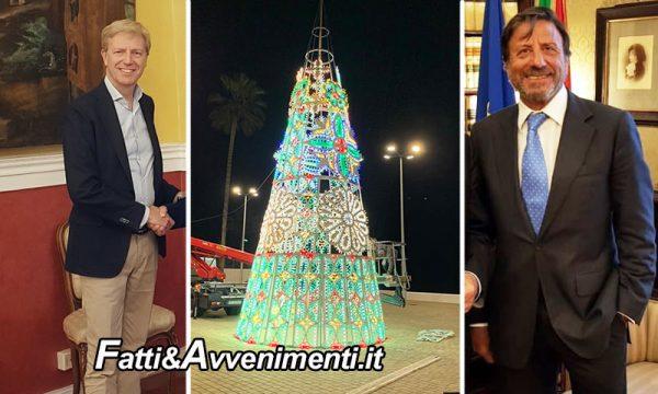 Sir Rocco Forte dona un albero di natale a San Leone: Sciacca dimenticata o altro?