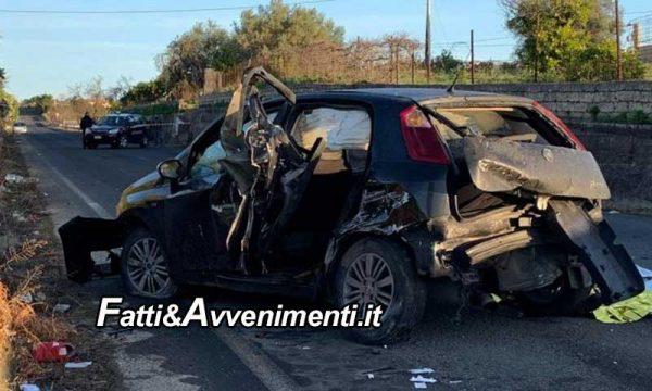 Palagonia (CT). Auto esce di strada: muore un ragazzo di 16 anni, tre feriti gravi