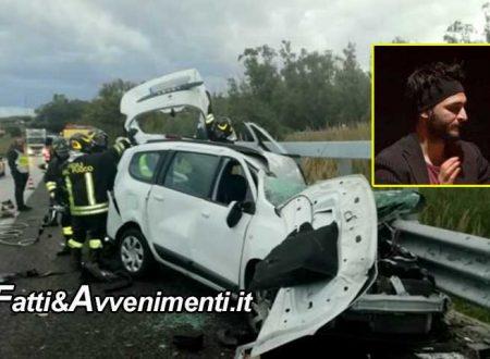 Incidente mortale sulla Messina-Palermo, auto si schianta contro il guardrail: perde la vita un 31enne