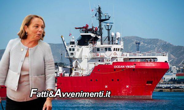 La Ocean Viking autorizzata a sbarcare i 116 migranti di cui 5 positivi nel porto di Augusta