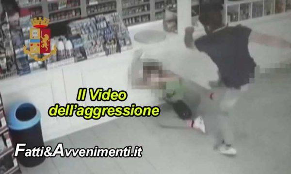 Pachino (SR). Calci e pugni alla compagna – ripresi da un VIDEO- e violenza sessuale: 37enne arrestato