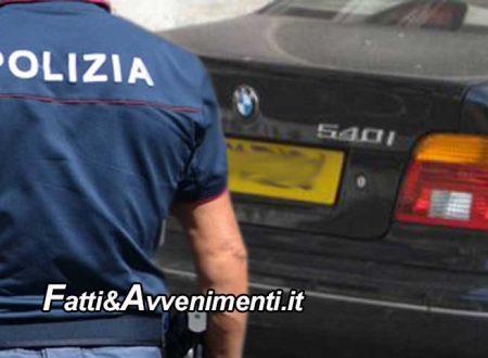 Sciacca. Saccense di origini trovato alla guida di un'auto risultata rubata in Francia: denunciato e mezzo sequestrato