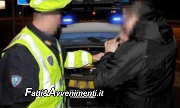 Sciacca. Giovane trovato ubriaco alla guida dopo un incidente stradale: patente ritirata e auto sequestrata