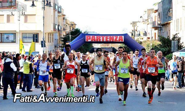 Ribera. Podismo, II edizione della 2a Half Marathon Arancia di Ribera: tempi e classifica